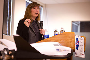 English: NASA Deputy Administrator Lori Garver...