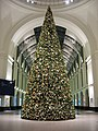 Dresden HBF the station; christmas-tree.jpg