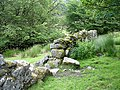Dry stone wall near Two Bridges - geograph.org.uk - 196520.jpg