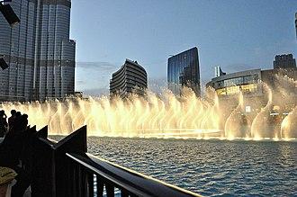 Burj Khalifa - The Dubai Fountain
