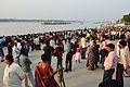 Durga Idol Immersion Gathering - Baja Kadamtala Ghat - Kolkata 2012-10-24 1755.JPG