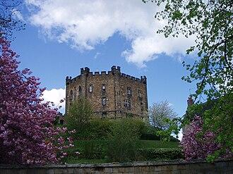 William de St-Calais - Image: Durham Castle keep (April)