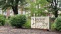 Durham School of the Arts sign, Durham, North Carolina 2014.jpg