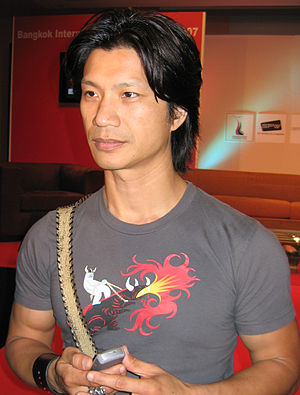 Dustin Nguyen - Nguyen at the 2007 Bangkok International Film Festival.