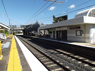 Dutton Park railway station railway station in Brisbane, Queensland, Australia
