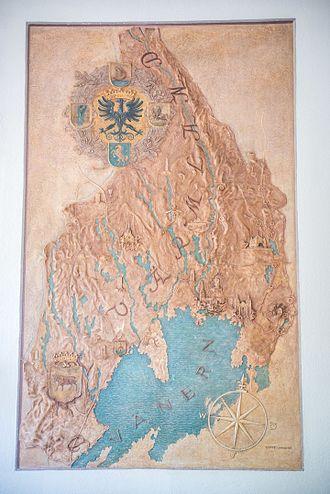 Värmlands nation - Relief made by Gotte Lundqvist