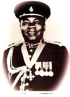 E. R. T. Madjitey First Ghanaian Inspector General of Police of the Ghana Police Service