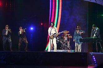 Belgium in the Eurovision Song Contest - Image: ESC 2007 Belgium KMG Love Power