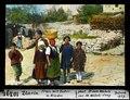 ETH-BIB-Zlarin, Frau mit Zuber und Kinder-Dia 247-10391.tif