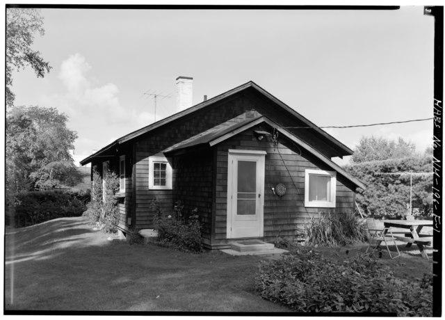 file exterior from northeast cottage augustus saint gaudens national historic site. Black Bedroom Furniture Sets. Home Design Ideas