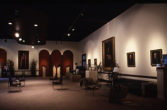 St. Charles Borromeo Seminary - The Eakins Room at the seminary contains six portraits by Thomas Eakins.