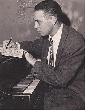 "1975 in jazz - Earl Washington, jazz pianist ""THE GHOST"""