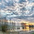 Early Morning high tide in HDR (Druten, Netherlands) (25329606302).jpg