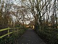 Early winter on the path from the M3 underpass to Birch Close - geograph.org.uk - 1619165.jpg