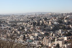 East Jerusalem Wadi al Joz (view from Mount Scopus) (8141474888).jpg