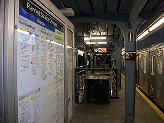Eastchester–Dyre Avenue station New York City Subway station in the Bronx