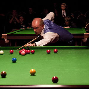 Snooker world rankings 1996/1997 - Image: Ebdon