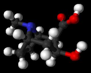 Ecgonine - Image: Ecgonine 3D balls