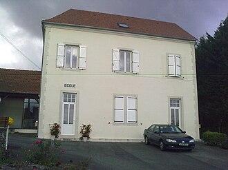 Castillon (Canton of Arthez-de-Béarn) - The school of Castillon