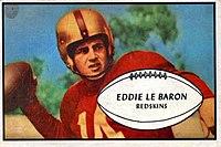 Eddie LeBaron - 1953 Bowman.jpg