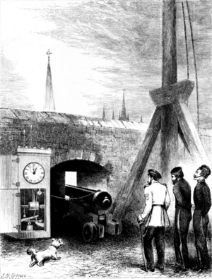 Charles Piazzi Smyth - Firing the One o'clock gun in 1861