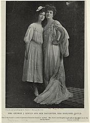 Edith M. Kingdon Gould and her daughter, Marjorie Gould in 1903.jpg