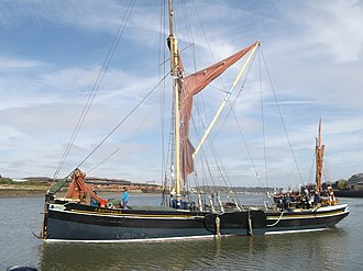 Edith May - Image: Edith May Thames Barge