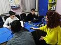 Editing at Stepanakert WikiClub.jpg