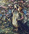 Edward Atkinson Hornel - Spring Time 1916.jpg