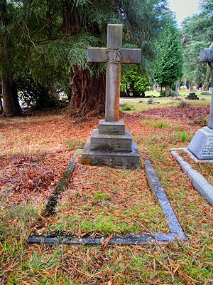 Edward Thornton, 2nd Count of Cacilhas - Thornton's grave in Brookwood Cemetery