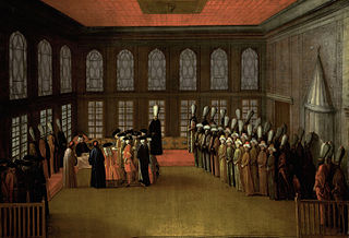 An Ambassador's Audience with the Grand Vizier in his Yali on the Bosporus (Ambassador Cornelis Calkoen, 12 August 1727)
