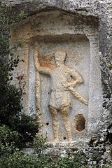 Warrior relief of Efrenk