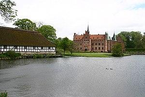 Egeskov Castle - Image: Egeskov Slot A1