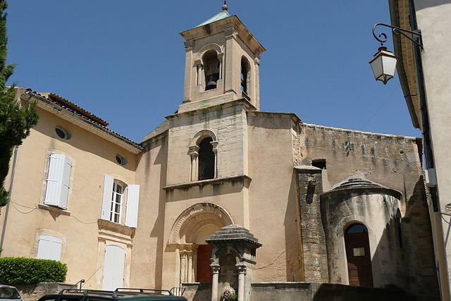 Церковь Saint-André et Saint-Trophime в Лурмарене