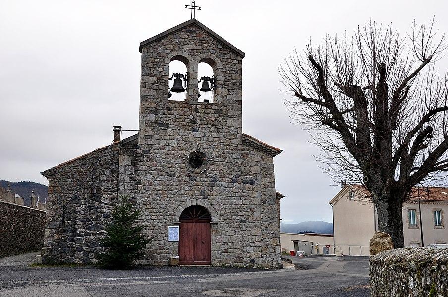 Eglise Saint-Michel de Saint-Michel-d'Aurance.
