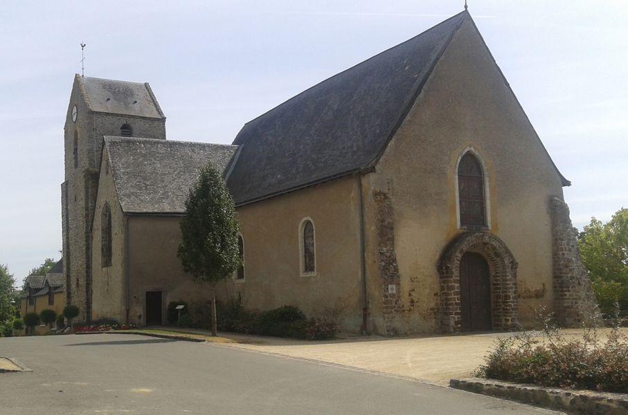 Église Saint-Denis de Saint-Denis-du-Maine