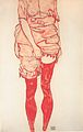 Egon Schiele - Stehende Frau in Rot - 1913.jpeg