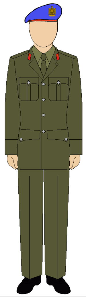 Republican Guard (Egypt) - Military suit of the Egyptian Republican guard police forces