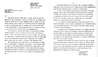 Einstein–Szilárd letter Letter written by Leó Szilárd and signed by Albert Einstein sent to the US President Roosevelt on August 2, 1939