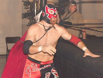 Sami Zayn - El Generico appearing at a Chikara show in 2013