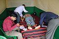 Electrocardiogram - Health Check-up Camp - Howrah Swamiji Sangha - Dumurjala - Howrah 2015-04-12 7447.JPG