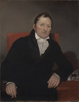 Eli Whitney, painted by Samuel F. B. Morse, 1822. Yale University Art Gallery