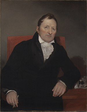 Eli Whitney - Eli Whitney, painted by Samuel F. B. Morse, 1822. Yale University Art Gallery
