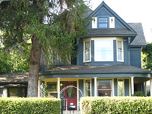 National Register of Historic Places listings in Crook County, Oregon - Image: Elliott House Prineville Oregon