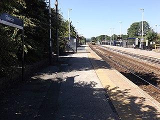Elsecar railway station Railway station in South Yorkshire, England
