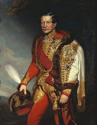 Emmanuel von Mensdorff-Pouilly - An aged Emmanuel von Mensdorff-Pouilly in the uniform of the Imperial and Royal Army