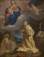 The Virgin and Child appearing to Saint Bruno