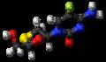 Emtricitabine molecule ball.png