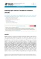 Enabling Open Science - Wikidata for Research (Wiki4R).pdf