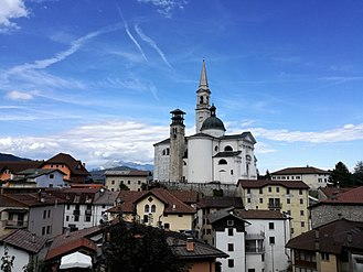 Enego - Duomo of Enego.